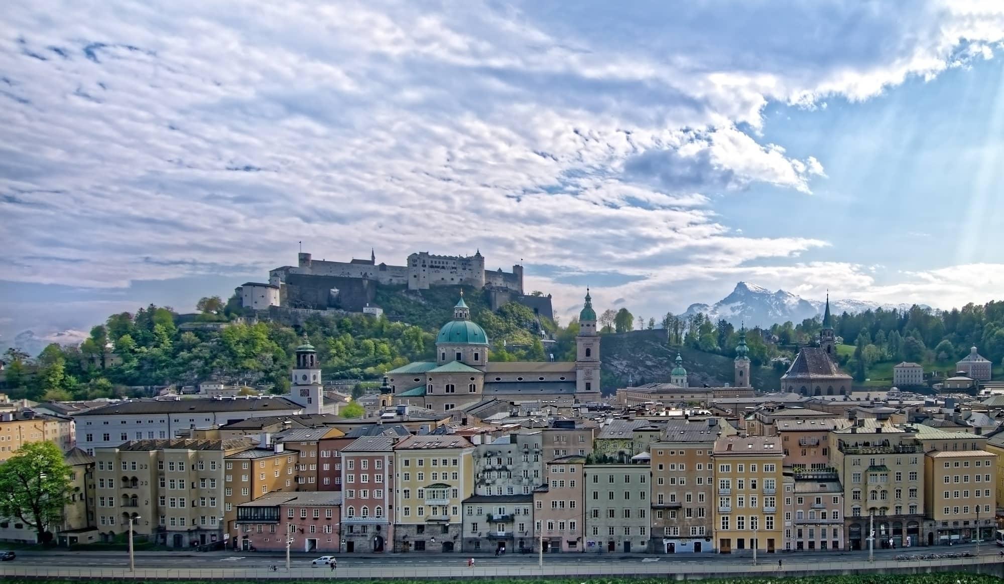 gruppereise til Salzburg